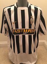 Authentic Juventus 2003-4 Men's XXL GB 47/48 Home Football Shirt EXC COND