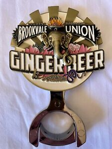 STANDOUT! Brookvale Ginger Beer Beer Tap Top Decal And Mount.