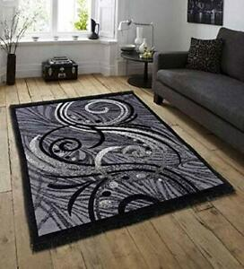 Flat Weave Abstract Collection Multipurpose Area Rug and Carpet 5 x 7 Fast Ship