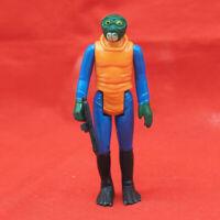 Vintage Star Wars Walrusman Action Figure w/ Weapon