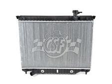 Radiator-1 Row Plastic Tank Aluminum Core CSF 3107
