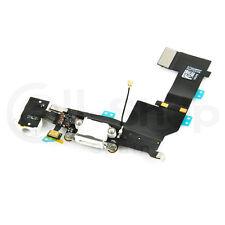 Cable Flex Jack Audio / Microfono / Conector Dock para iPhone 5S Blanco