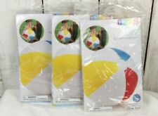 """Lot of (3) Intex 20"""" Inflatable Beach Ball Glossy Panel Ball, New, Free Shipping"""