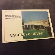 Pamphlet - Vaucluse House