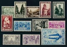 [34054] Belgium 1933 Orval Good SCARCE set Very Fine MH stamps V:$1265