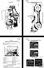JEEP FORD GPW / WILLY MB 4x4 TRUCK MAINT OPS  MANUALS WW2 Period set ARMY rare