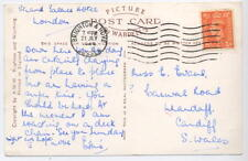 Brighton Transorma ident 17 early use after intro 1948 on neat post card