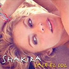 Shakira sale el Sol CD New Nuevo Sealed