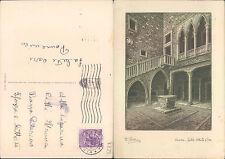 VENEZIA - CORTILE DELLA CA' D'ORO  -   (rif.fg. 8755)
