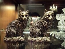 Jay Strongwater Limited Edition Swarovski Cat Figurine /Two Available/Retired