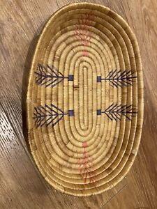 Eskimo Beach Grass Oval Basket