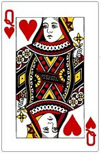 Cards # 11 - 8 x 10 Tee Shirt Iron On Transfer Queen of Hearts