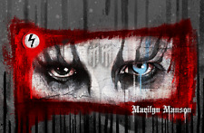 Marilyn Manson Canvas Print