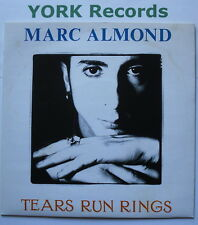 """MARC ALMOND - Tears Run Rings - Excellent Condition 7"""" Single Parlophone  R 6086"""