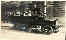 Bath. Charabanc by Arthur Stone, Maple Grove, Bath. Card # 192.