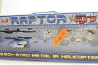 Raptor 3.5CH Gyro Metal IR Helicopter - World Tech Toys 35632 NIB