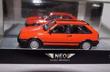 VW Polo G40 rot 1:43 Neo neu & OVP 45795