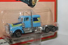Road Champs 1970's Kenworth Semi Cab, Blue, Mint on Card