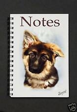 German Shepherd Dog Pup Notebook / Notepad By Starprint