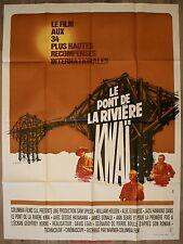 LE PONT DE LA RIVIERE KWAI Affiche Cinéma / Movie Poster David Lean