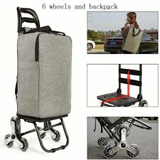 Upstair Shopping Cart Trolley Large-item Folding Trailer Household Portable Bags