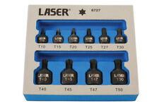 Laser Tools Low Profile Impact Star Bit Set 10pc 6727