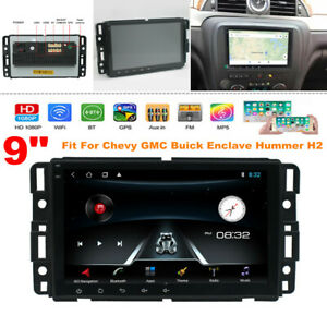 """9"""" Android 10.1 Car Radio Player Navi GPS fit for Chevy Buick Enclave Hummer H2"""