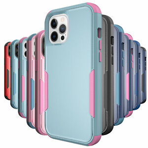 Shockproof Case For iPhone 12 11 Pro Max Xr Xs 6 6s 8 7 Plus SE Heavy Duty Cover