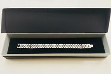 Men's Bracelet Solid Stainless Steel with Presentation Box