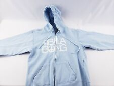 Billabong Zip Front Hoodie Girls Size Large