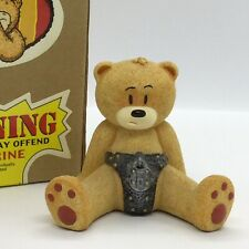 🔒'BAD TASTE BEARS' RARE FIGURINE 'CHAZ' #23 SUPERB CONDITION! BOXED!