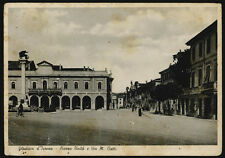 cartolina GRADISCA D'ISONZO piazza unità e via m.ciotti