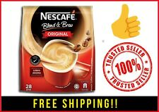 NESCAFE BLEND & BREW 3-in-1 Instant Coffee Mix ORIGINAL FREE SHIPPING