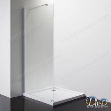 Box cabina doccia Parete fissa walk-in 120 cm cristallo 8 mm bagno paratia