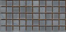 50pcs N4 Medium Grey Natura Opaque Glass Mosaic Tiles 15mmx15mmx4mm Paper faced