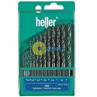 Heller 13 Piece HSS-R Drill Bit Set 2mm - 8mm Rolled Jobber Quality German Tools