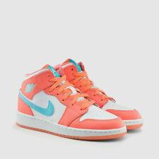 Nike YOUTH Air Jordan 1 Mid (GS) SIZE 9Y FITS MEN'S 9 & WOMEN'S 10.5 Crimson NEW
