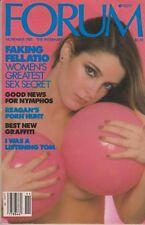 PENTHOUSE FORUM MAGAZINE NOVEMBER 1985 Nude Sex Erotica