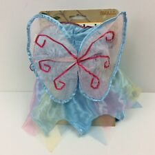 Doggiduds Pet Apparel Fairy Dog Costume Small Blue Pink Glitter