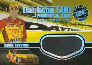 WOW!! 17/25 2009 Press Pass Daytona 500 TIRES #TT-KH Kevin Harvick 17/25 HTF!!