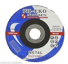 "5x Mini Cut-Off Wheels Discs Quality Blade 76 x 1 x 10 (3"") Metal Grinding Disc"