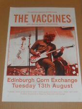 THE VACCINES - live music show aug 2013 promotional tour concert gig poster