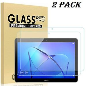 2 Pack Genuine Tempered Glass Screen Protector For Huawei MediaPad T3 10 9.6""