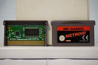Metroid Nes Classics nintendo gameboy advance game boy gba original EUR PAL 2004