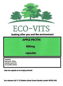 Apple Pectin 800mg 120 Capsules