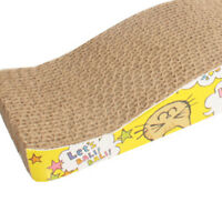 Pet Cat Scratching Corrugated board Scratcher Post Pole Bed Pad Toys New