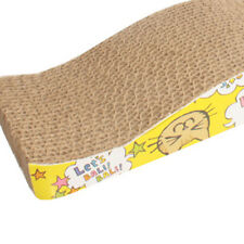 1x Catit Cat Pet Scratching Corrugated board Scratcher Post Pole Bed Pad Toy