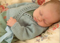 BABY WRAP OVER CARDIGAN KNITTING PATTERN - 4 ply - BIRTH TO 6 YEARS