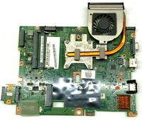 Used HP CQ60-203NR motherboard, heatsink and cooling fan.