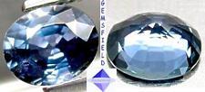 VVS !!! 0.98ct SAPHIR de SRI LANKA ex Ceylan - pur bleu azur - poli AAA++